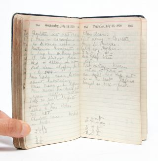 Image 6 of 7 for A nurse and women's club leader keeps a diary in the year American women gained...