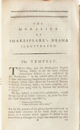 The Morality of Shakespeare's Drama Illustrated