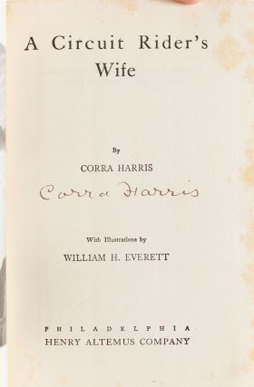 Image 5 of 8 for A Circuit Rider's Wife (First edition signed