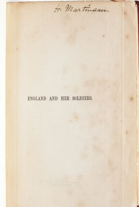 England and Her Soldiers (Author's copy with ALS)