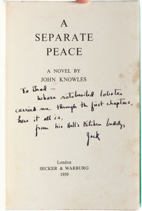 A Separate Peace (Presentation copy)