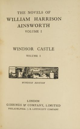 Image 2 of 3 for The Novels of William Harrison Ainsworth (in 20 vols