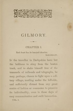 Image 2 of 4 for Gilmory: A Novel (in 3 vols