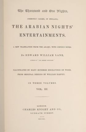 Image 2 of 3 for The Thousand and One Nights (in 3 vols