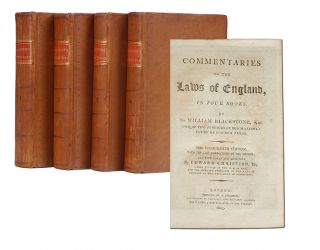 Image 1 of 3 for Commentaries on the Laws of England (in 4 vols