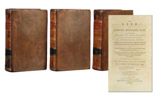 Image 1 of 4 for The Life of Samuel Johnson, LL.D. (in 3 vols). Comprehending an Account of His...