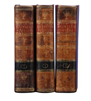 Image 2 of 4 for The Life of Samuel Johnson, LL.D. (in 3 vols). Comprehending an Account of His...
