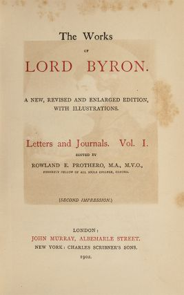 The Works of Lord Byron (in 13 vols)