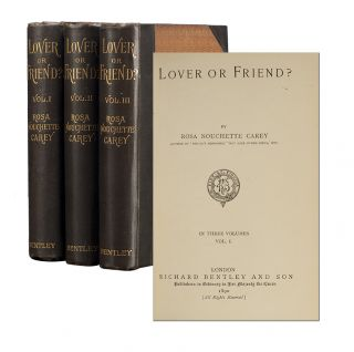 Image 1 of 3 for Lover or Friend? (in 3 vols