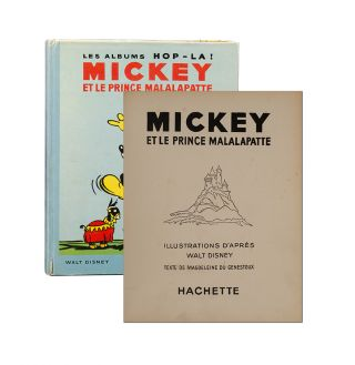 Image 1 of 4 for Mickey et le Prince Malalapatte