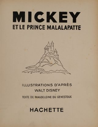 Image 2 of 4 for Mickey et le Prince Malalapatte