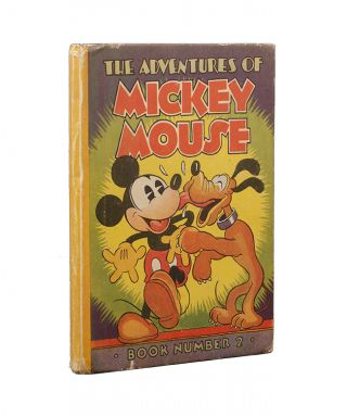 Image 1 of 3 for The Adventures of Mickey Mouse. Book Number 2