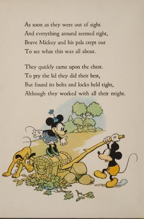 Image 2 of 3 for The Adventures of Mickey Mouse. Book Number 2