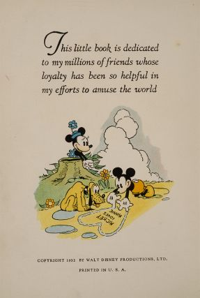 Image 3 of 3 for The Adventures of Mickey Mouse. Book Number 2