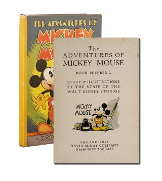 Image 1 of 4 for The Adventures of Mickey Mouse. Book Number 2