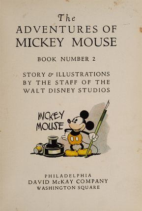 Image 2 of 4 for The Adventures of Mickey Mouse. Book Number 2