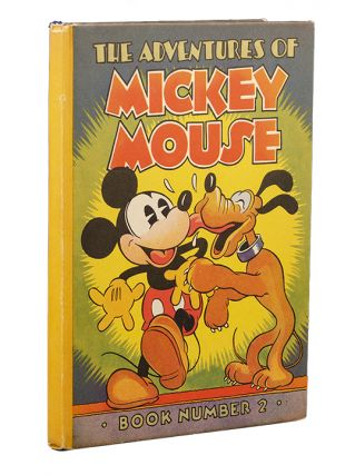 Image 4 of 4 for The Adventures of Mickey Mouse. Book Number 2