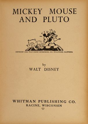 Image 2 of 4 for Mickey Mouse and Pluto