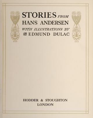 Image 2 of 4 for Stories from Hans Andersen