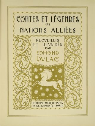 Image 2 of 3 for Contes et Legendes des Nations Alliees (Signed Limited Edition