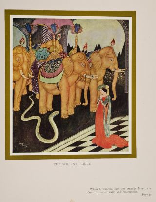 Image 3 of 4 for Edmund Dulac's Fairy-Book. Fairy Tales of the Allied Nations
