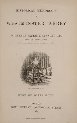 Historical Memorials of Westminster Abbey (Fore-edge Painting)