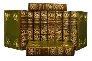 Image 1 of 3 for The Works of Oliver Goldsmith (in 10 vols
