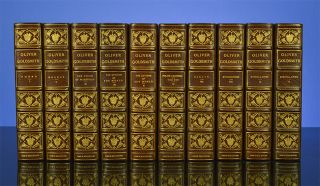 Image 2 of 3 for The Works of Oliver Goldsmith (in 10 vols