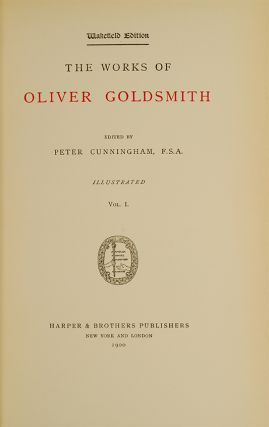 Image 3 of 4 for The Works of Oliver Goldsmith