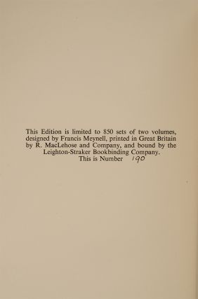 The Writings of Gilbert White of Selborne
