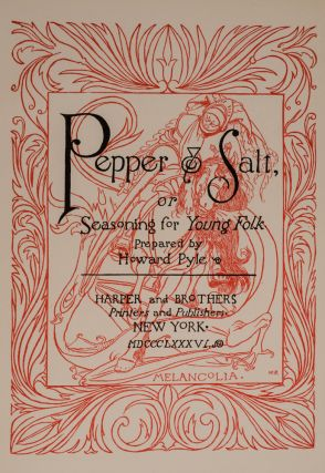 Image 2 of 3 for Pepper & Salt, or Seasoning for Young Folk