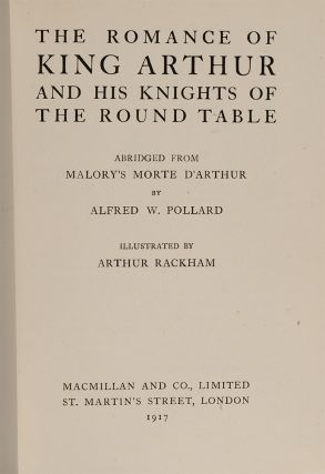 Image 2 of 4 for The Romance of King Arthur and His Knights of the Round Table
