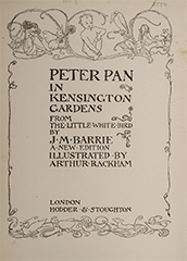 Image 2 of 4 for Peter Pan in Kensington Gardens