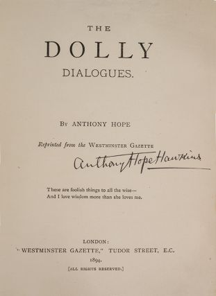 Image 2 of 3 for The Dolly Dialogues (Association Copy
