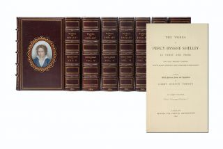 Image 1 of 4 for The Poetical Works of Percy Bysshe Shelley [with] The Prose Works of Percy...