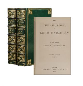 Image 1 of 4 for The Life and Letters of Lord Macaulay (Extra Illustrated