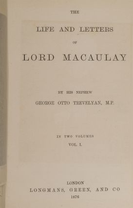 Image 3 of 4 for The Life and Letters of Lord Macaulay (Extra Illustrated