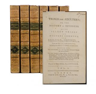 Image 1 of 4 for Trials for Adultery: or, the History of Divorces. Being Select Trials at Doctors...