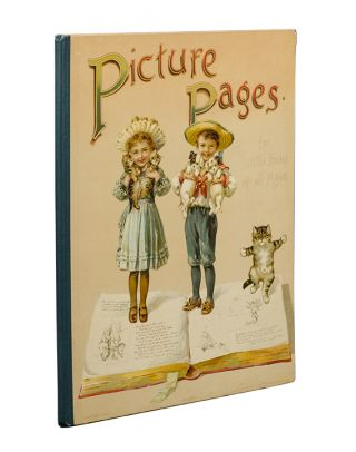 Image 1 of 2 for Picture Pages for Little Folks of All Ages