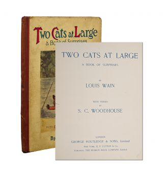 Image 1 of 4 for Two Cats at Large. A Book of Surprises