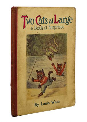 Image 4 of 4 for Two Cats at Large. A Book of Surprises
