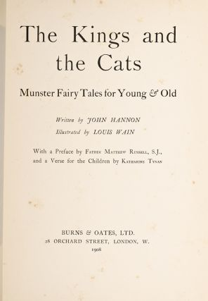 Image 2 of 4 for The Kings and the Cats. Munster Fairy Tales for Young & Old