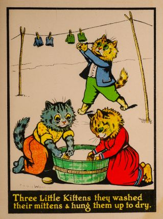 Image 3 of 3 for Three Little Kittens Painting Book