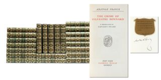 Image 1 of 7 for The Works of Anatole France (Signed Limited Edition in 30 vols