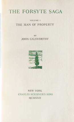 Image 6 of 8 for The Works of John Galsworthy (Signed Limited Edition in 30 vols