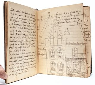 Image 3 of 7 for Manuscript diary of consul's daughter during her education in Hanover