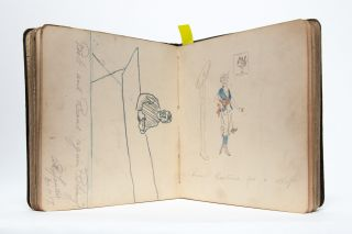 Collection of three commonplace and friendship books from a World War I nurse