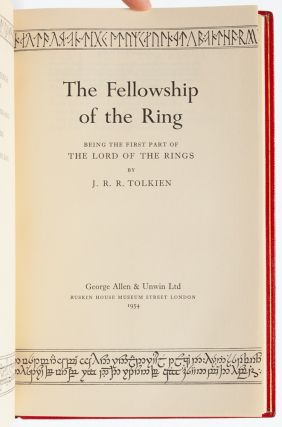 Image 4 of 11 for The Lord of the Rings Trilogy, comprised of: The Fellowship of the Ring; The...