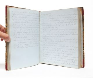 Image 5 of 6 for Manuscript diary documenting a young woman's love of literature and learning,...