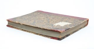 Image 6 of 6 for Manuscript diary documenting a young woman's love of literature and learning,...